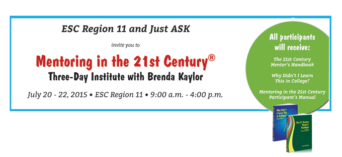 Mentoring in the 21st Century® Three-Day Institute