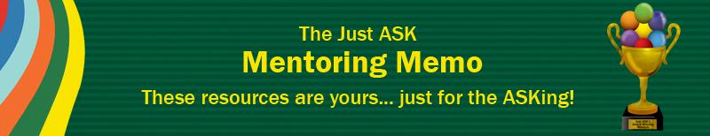 Mentoring Memo