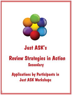 Review Strategies in Action Secondary