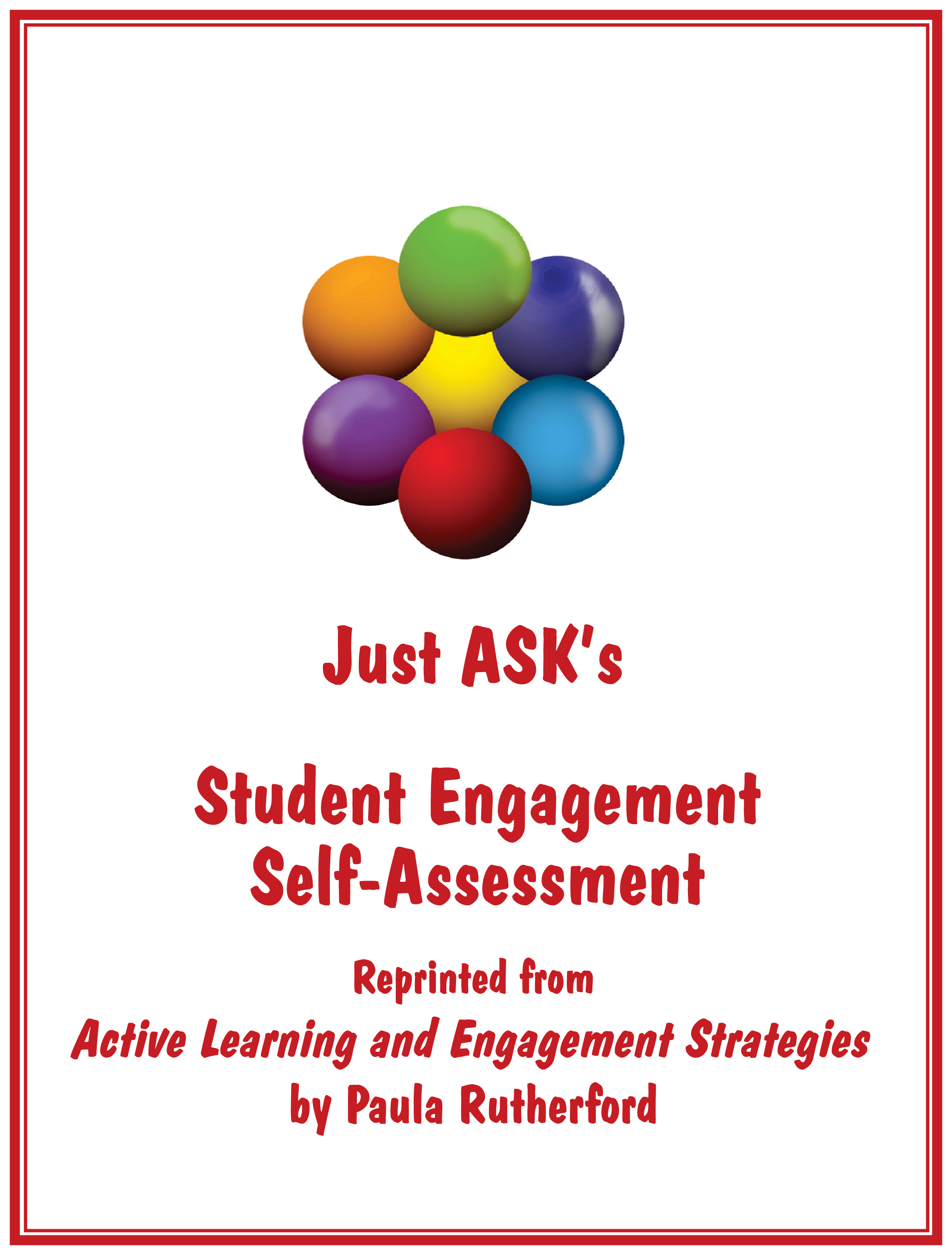 Student Engagement Self-Assessment