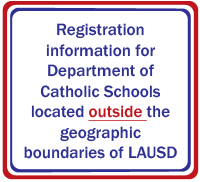 LAUSD Registration