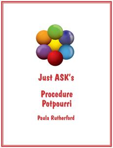 Procedure Potpourri