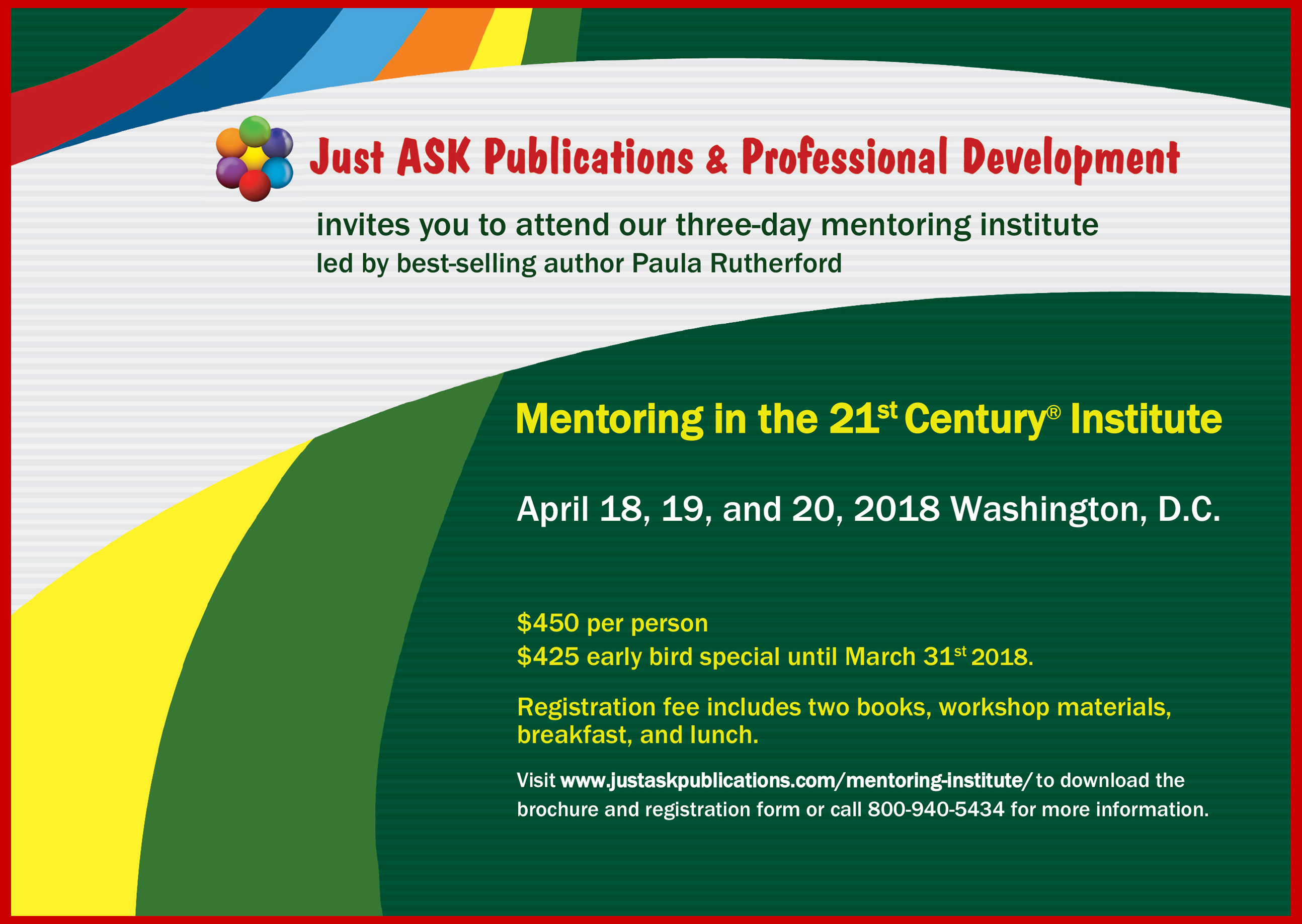 2018 Mentoring in the 21st Century Institute